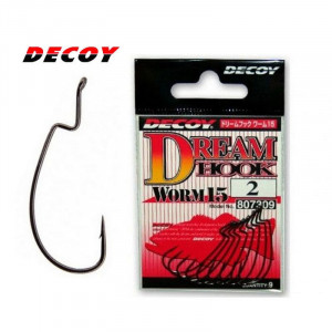 Крючок Decoy Worm15 Dream  #3/0